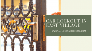 Car Lockout in East Village, NY